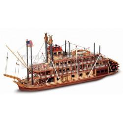 Mississippi stavebnice dřeveného modelu historické lodi