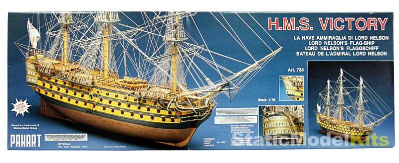 Model lodi Victory 738, stavebnice Mantua Panart