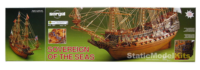 Model lodi Sovereign of the Seas stavebnice Mantua Sergal