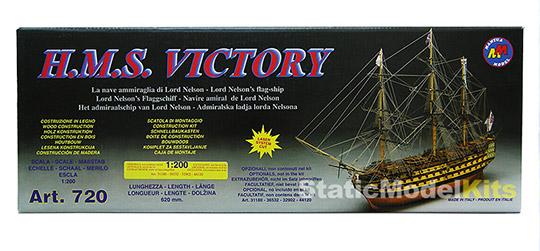 Mantua HMS Victory stavebnice modelu lodi - krabice