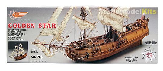 Mantua Golden Star stavebnice modelu lodi - krabice