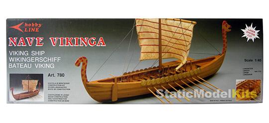 Mantua Viking stavebnice modelu lodi - krabice
