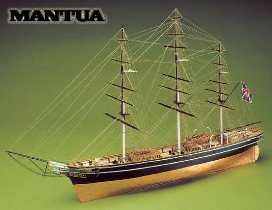 Dřevěný model lodi Cutty Sark