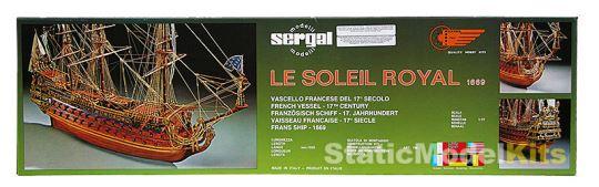 Balení stavebnice vlajkové lodi Le Soleil Royal