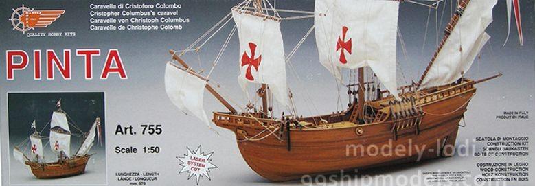 Model lodi Pinta od Mantua