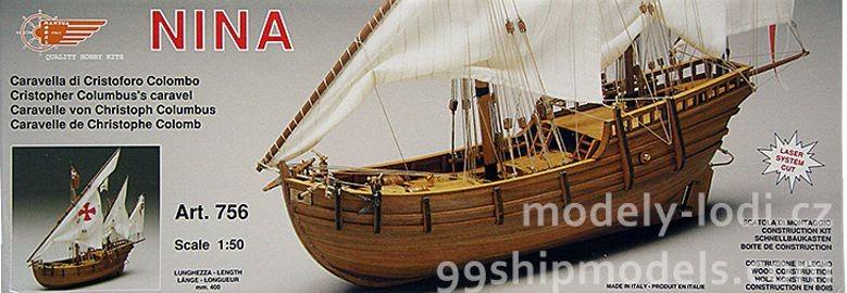 Model lodi Nina od Mantua